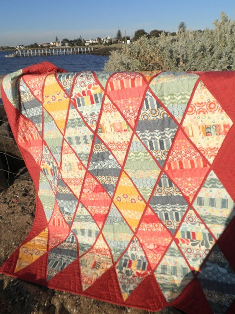 Moda Bake Shop: Salt Air Diamonds Quilt