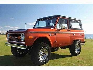 Image result for 1973 bronco