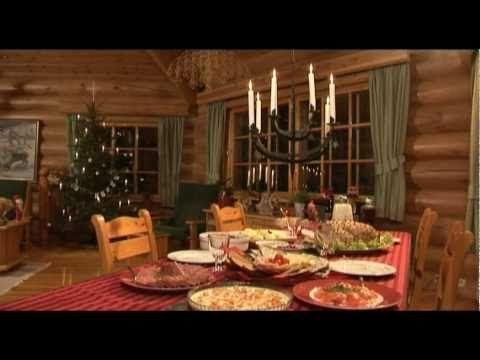 A hagyományos finn karácsony