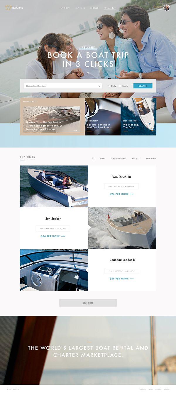 Boat Me on Web Design Served