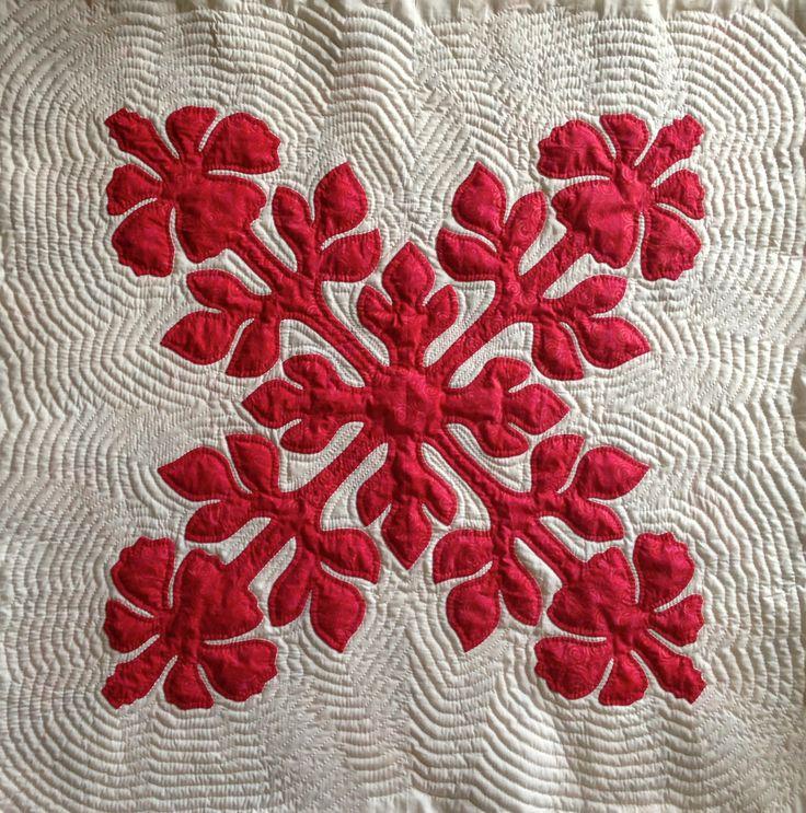 Traditional Hawaiian Applique Quilt Patterns