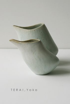 Yoko Terai - Vessels #pottery #Japanese_pottery #ceramics #Japanese_ceramics  #vessel
