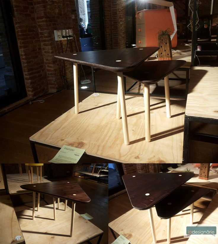 La Designarie at RDW 2015 Triangle Coffe Table Designer: Anamaria Bica & Ina Pop