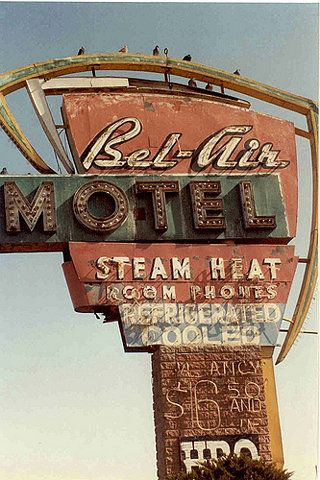 Bel Air Motel, 1992 on Flickr - Photo Sharing!
