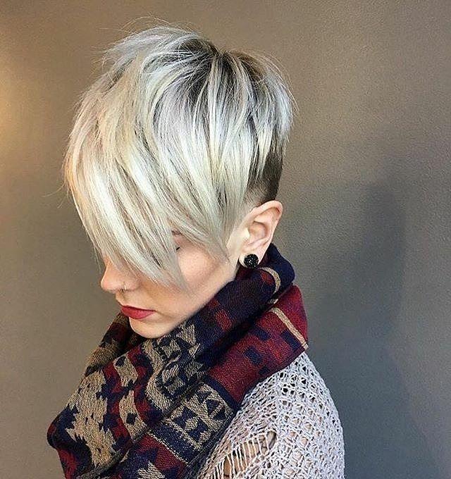 "3,418 Likes, 12 Comments - Short Hair Ideas (@short_hair_ideas) on Instagram: ""Cedits to @salon_luce  #shorthair #shorthairideas #blond #shoutouter #shoutouts #pixiecut…"""