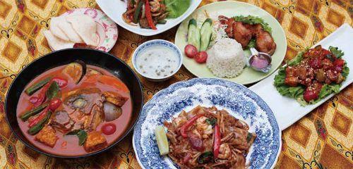 マレーシア料理 シンガポール料理 海南鶏飯 ペナンの味 ハラール対MENU