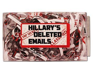 Hillary's Deleted Emails - Hillary's Emails Gag Gift - Funny Hillary Gifts - Presidential Election 2016 - Fake Emails Gag - Hillary Clinton Gag Gift by Gears Out The best gag gifts for 2017 are the ones your friends and family will remember. Most people appreciate a good practical joke and these will give you some great gag gift ideas for Christmas 2017. There are practical joke ideas for both men and women. You will definitely make them laugh out loud at your funny gift as they will appre