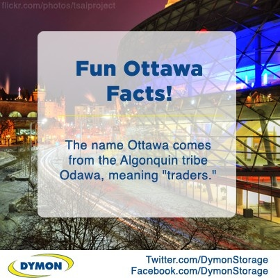 """""""The name Ottawa comes from the Algonquin tribe Odawa, meaning 'traders'."""" #Ottawa #FunFact #Canada"""