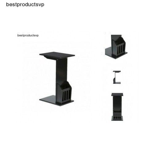 #Ebay #End #Table #Magazine #Rack #Side #Black #Sofa #Chairside #Snack #Holder #Stand #Mission  #SouthernEnterprises #Transitional