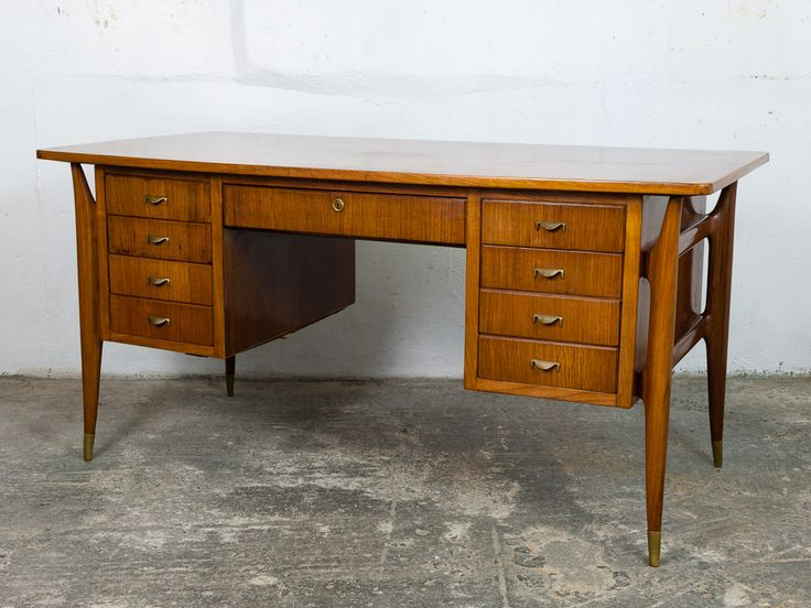 1940's Italian Rosewood Desk