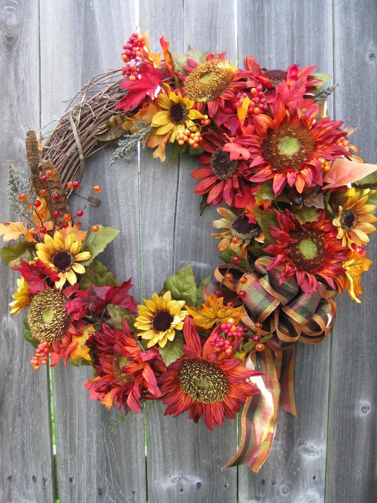 Fall Wreath, Autumn Wreath,
