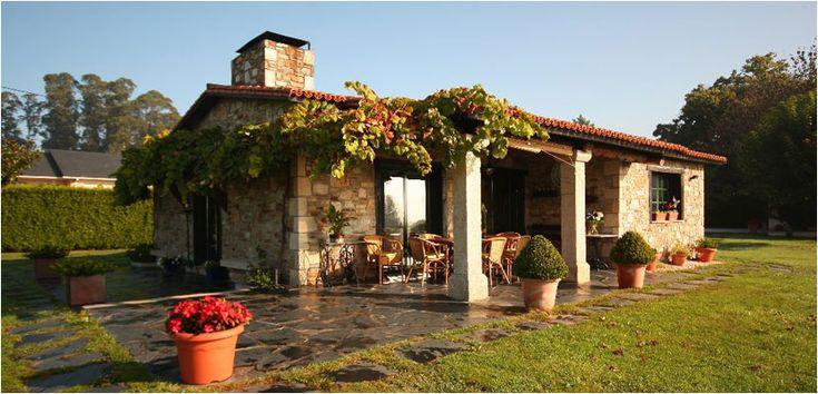 Construcciones R�sticas Gallegas - Casas r�sticas de piedra- Inicio