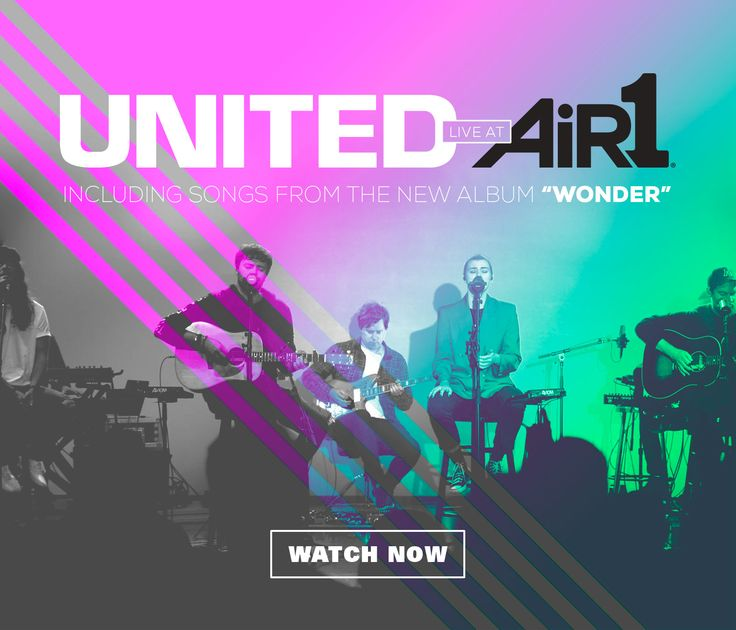 IT'S HERE! We've got an exclusive concert from Hillsong United at the Air1 studios! Hear songs from their new album #w🌏nder, interviews & behind-the-scenes footage! http://air1.cta.gs/295dr1a