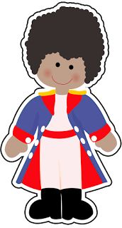 Different Races Little Princes Clipart=