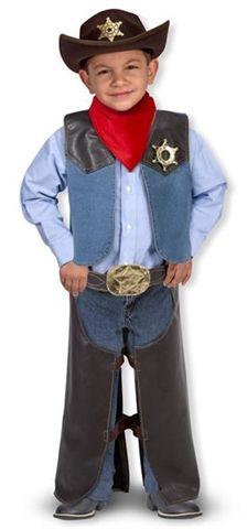 C'est parti pour la conquête de l'Ouest... Costume de cowboy (Melissa & Doug)