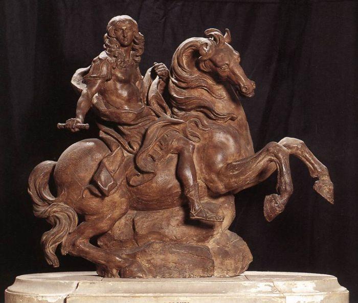 best bernini gian lorenzo images sculptures  equestrian statue of king louis xiv 1669 1670 gian lorenzo bernini