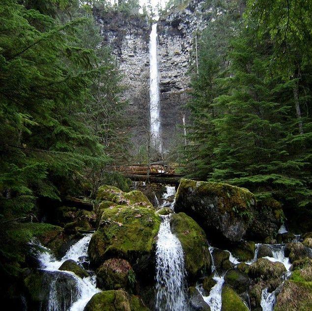 Exploring Roseburg Oregon: Hike To Watson Falls #exploringroseburgoregon #watsonfalls #hiking #trails #waterfalls
