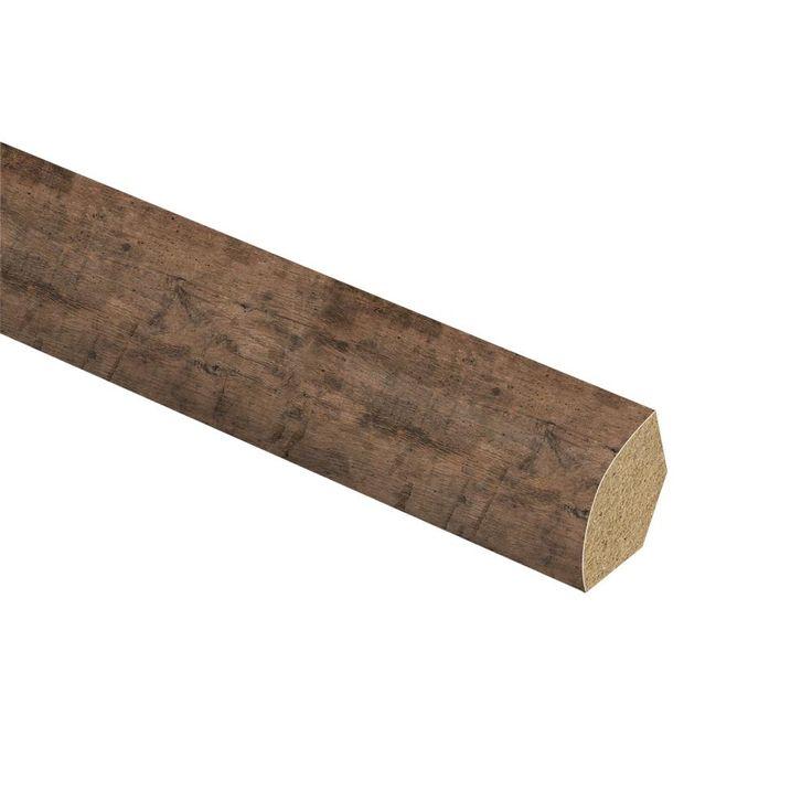 Zamma Rustic Grey Oak 5/8 in. Thick x 3/4 in. Wide x 94 in. Length Laminate Quarter Round Molding, Medium