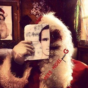 Quel surprise ce matin en ouvrant le courrier! Le Père Noël vient de m'envoyer cette photo... apparemment