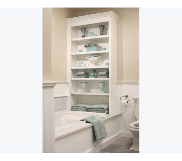 love this cabinet at end of tub