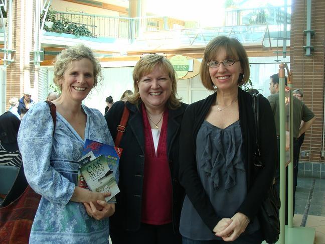 """Daphne Greer, JoAnn Yhard and Lisa Harrington at the book launch for """"Oak Island Revenge."""""""
