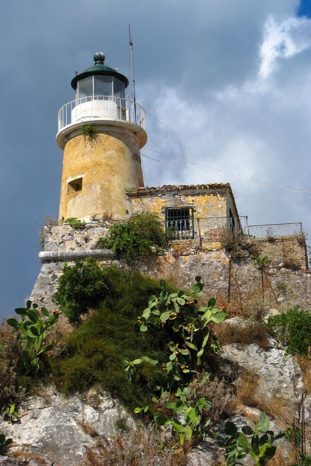 LIGHTHOUSE - Faros Sidero, Corfu, Greece
