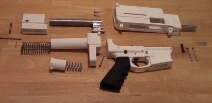 The Shuty Hybrid 3D Printed 9mm Pistol Raises Questions About 3D Printed Gun Control http://3dprint.com/89919/shuty-hybrid-3d-printed-pistol/