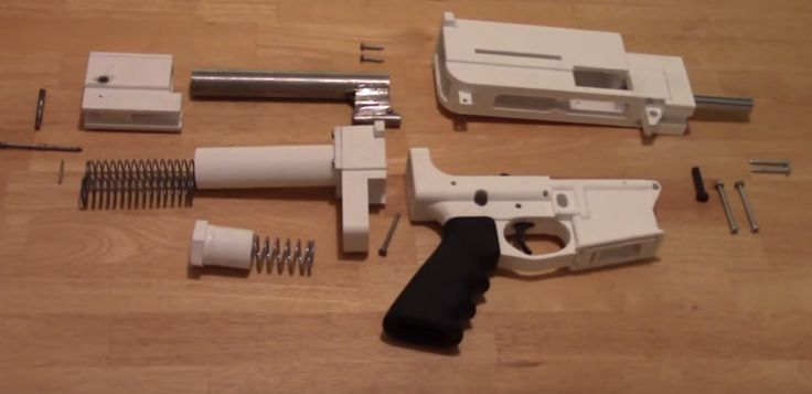 The Shuty Hybrid 3D Printed 9mm Pistol Raises Questions