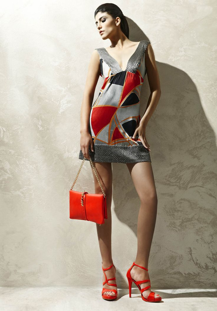 Red is color of the sensuality! Albano shoes and Bags of the new Summer Collection
