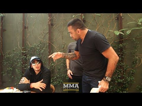 MMA Tony Ferguson, Fabricio Werdum Have to Be Separated at UFC 216 Media Lunch