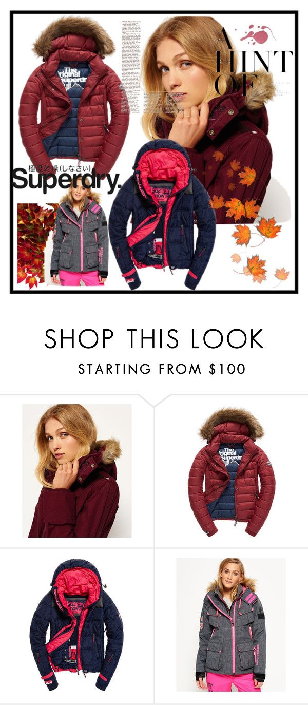 """The Cover Up – Jackets by Superdry: Contest Entry"" by lejla150 ❤ liked on Polyvore featuring Superdry and Fuji"