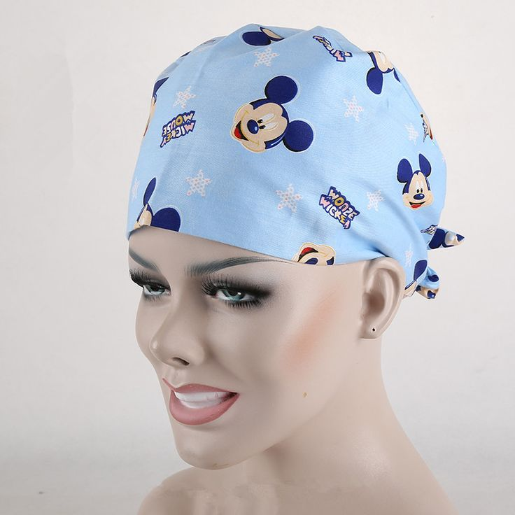 2016 New product Bird Print women's Surgical Cap Dental Doctor Medical Caps 8
