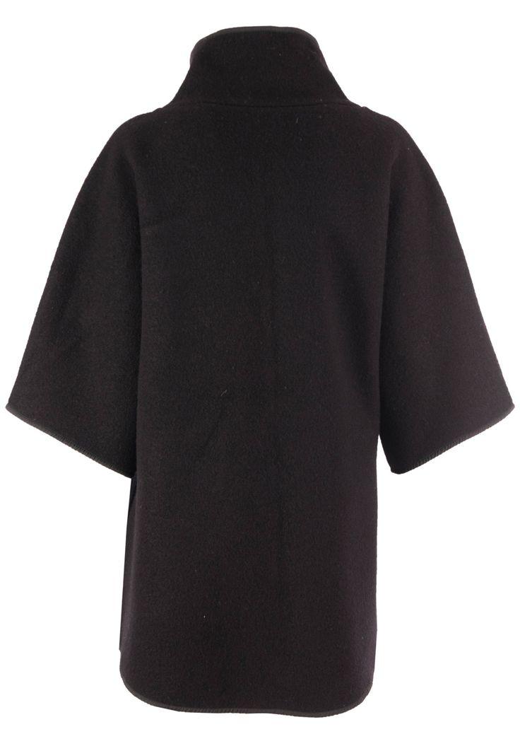 Пальто EMPORIO ARMANI, (цвет: черный) - купить по цене 35217 рублей - Elyts.ru