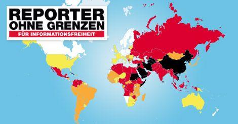 Reporter ohne Grenzen dokumentiert Verstöße gegen die Presse- und Informationsfreiheit weltweit und alarmiert die Öffentlichkeit, wenn Journalisten und deren Mitarbeiter in Gefahr sind. Wir setzen uns für mehr Sicherheit und besseren Schutz von Journalisten ein. Wir kämpfen online wie offline gegen Zensur, gegen den Einsatz sowie den Export von Zensur-Software und gegen restriktive Mediengesetze.