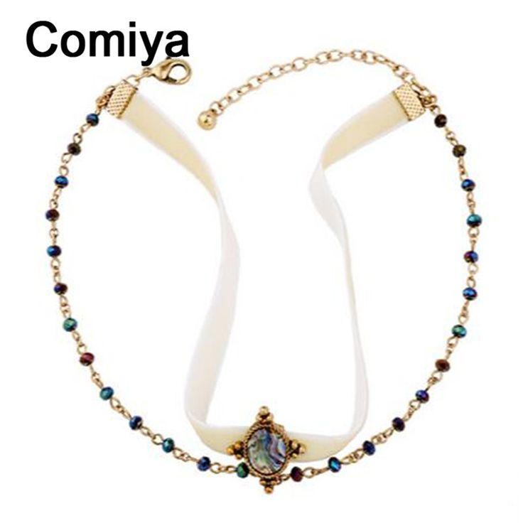 Купить Comiya дизайнерский бренд заявление аксессуары maxi ожерелье для женщин лента цепи старинные свадебные choker ожерелья оптоваяи другие товары категории Кольев магазине Comiya Official StoreнаAliExpress. Колье