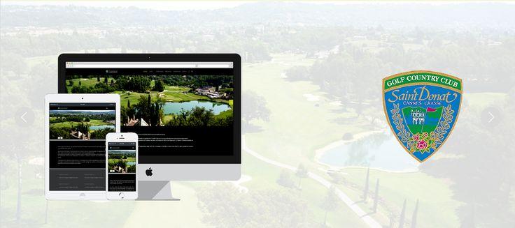 Site internet Golf Country Club Saint-Donat
