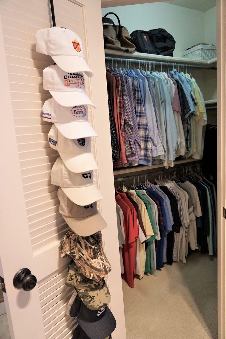 Closets Hat Organization Hat Organization Closet Shirt Organization