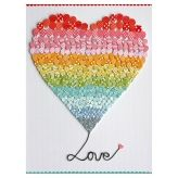 Love is in the air kids' art print