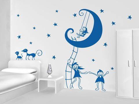 Letras en pared el principito vinilos infantiles en for Pegatinas vinilos infantiles