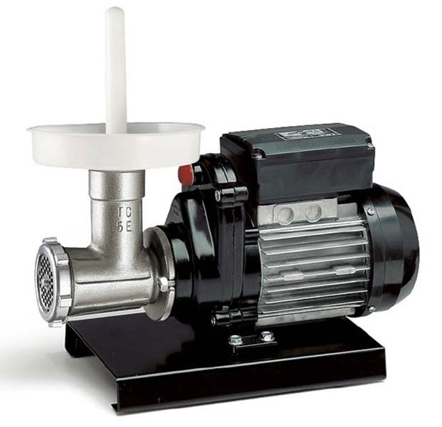 Tritacarne elettrico Reber 9502 N Tritacarne funzionante elettricamente con produzione oraria 30/50 Kg. 178,90 €