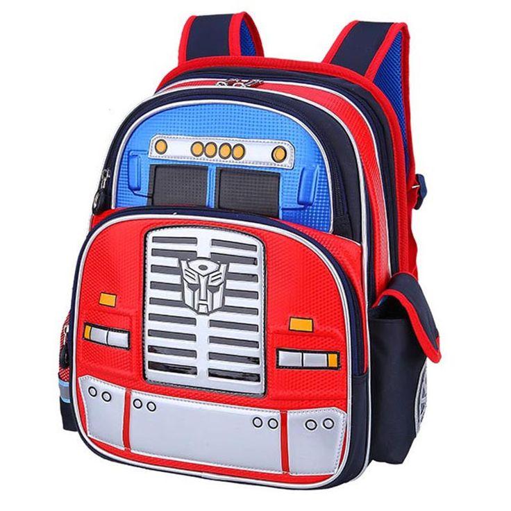 2017 New cartoon robot schoolbag boy backpacks children school bags for girls kids backpack mochilas escolar infantil cool bag  #kids #backpack #bag #WomenWallets #shoulderbags #handbags #L09582 #YLEY #highschool #bagshop #fashion #Happy4Sales  #NewArrivals