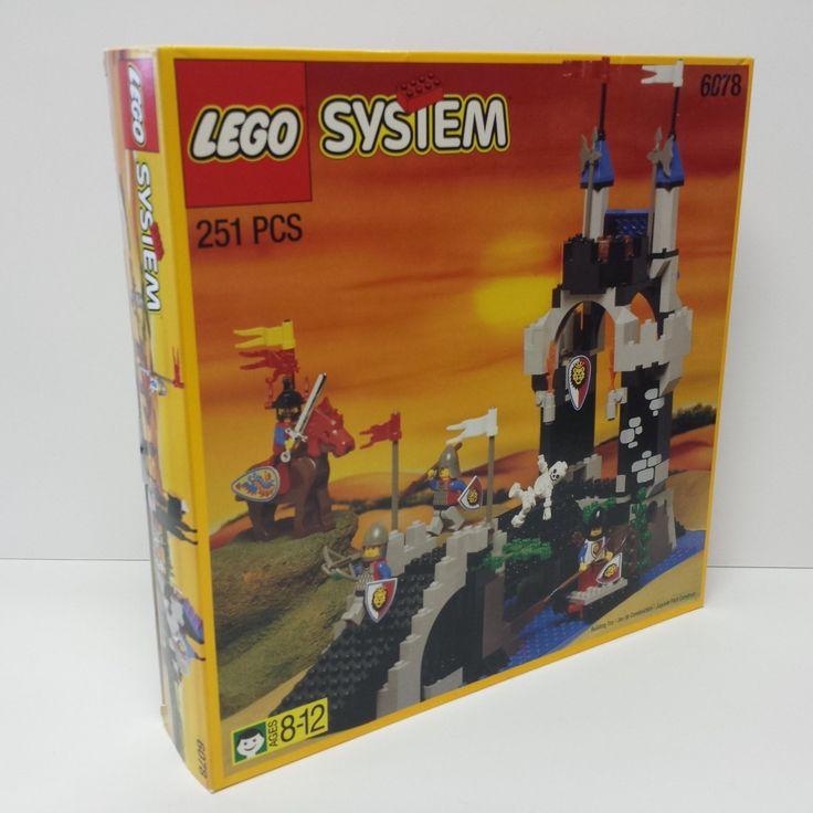 LEGO Systems 6078 Royal Drawbridge