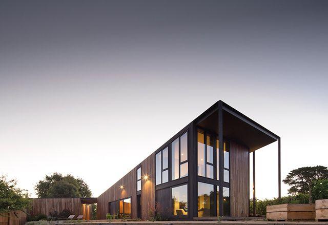Shoreham Vineyard House by Jackson Clements Burrows Architects in Mornington Peninsula
