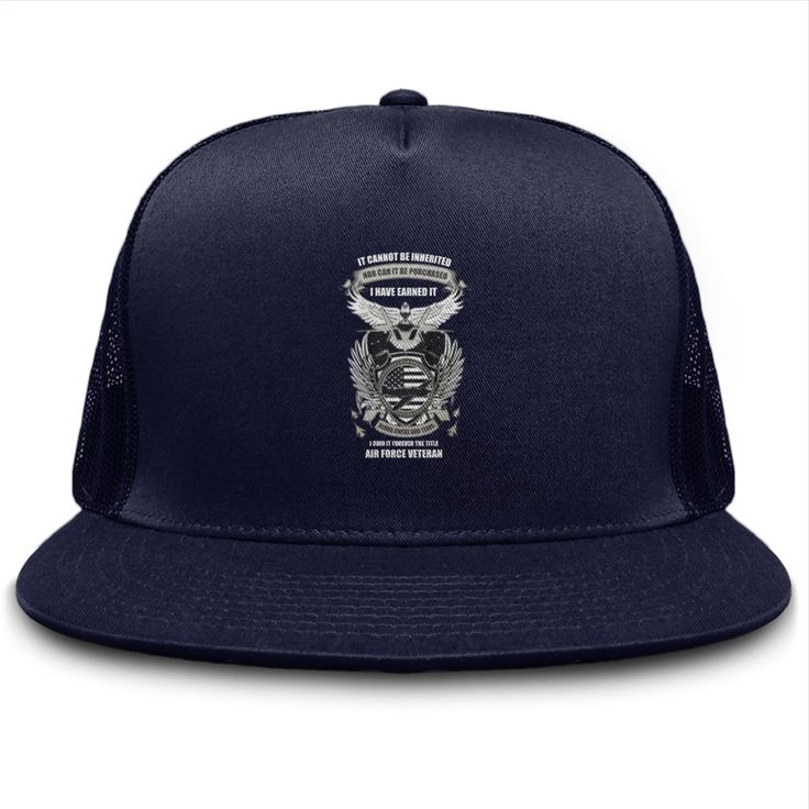 I Own It Forever The Title Air Force Veteran hat