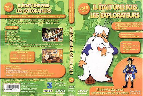 il etait une fois les explorateurs - Dvd Volume 04