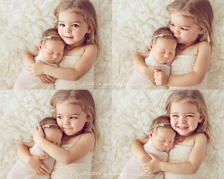 Newborn Sibling Photography Poses