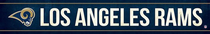 Los Angeles Rams Street Banner $19.99