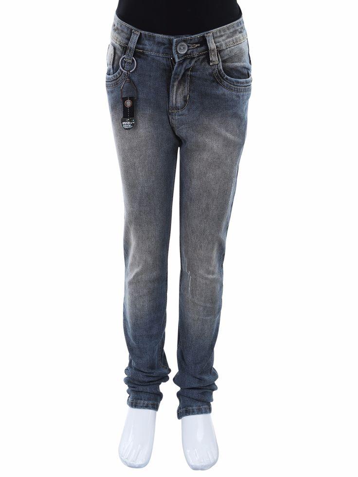 Forway Grey Denim Solid Casual Boys Jeans
