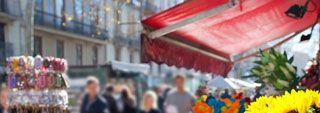 Store double pente pour Commerçants et Marchés extérieurs. Installer votre point de vente ou protéger votre terrasse n'aura jamais été aussi rapide!