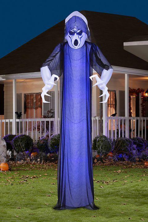 35+ Spooky Outdoor Halloween Decorations Your Yard Needs Hallowen